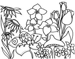Luxury Ideas Flower Garden Coloring Pages 40 Best Images On Pinterest