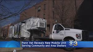 100 Truck Shelters Penn Vet Unveils Mobile Clinic To Serve Community Area