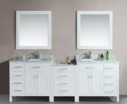 Double Sink Vanity With Dressing Table by Modern Double Sink Vanity White Pattern Marble Sink Table Grey