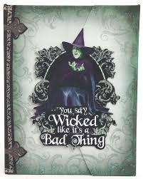 oz wicked witch of the west journal paper house off to see the