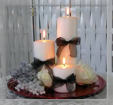 Winter Candle Centerpieces Inexpensive Wedding Centerpiece Ideas