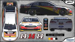 100 Truck Centers CUP 14 Clint Bowyer Rush 2017 By Udo Washeim