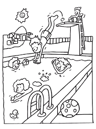 Summer Coloring Pages 10