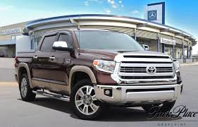 2015 Brown Toyota Tundra 4WD Truck 5.7 L For Sale - Park Place