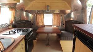 100 Airstream Trailer Restoration Vintage New Prairie Construction