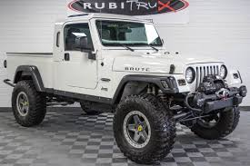 100 Jeep Wrangler Truck Conversion Kit 2006 Rubicon HEMI Brute White
