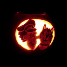 Fireman Pumpkin Carving Stencils by The Watford Speech And Language Therapy Practice With Katy