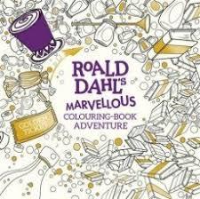 Roald Dahls Marvellous Colouring Book Ad