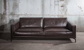 canape cuir design contemporain triss fabriquant de mobilier contemporain haut de gamme