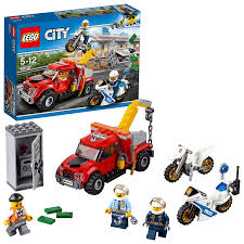 LEGO 60137 City Police Tow Truck Trouble Building Toy: Lego: Amazon ...