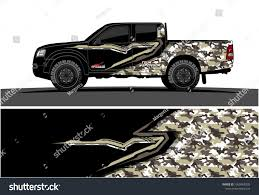 100 Camo Wrap For Truck Modern Abstract Graphic Stock Vector Royalty Free