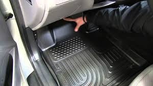 Husky Weatherbeater Floor Mats Vs Weathertech by Review Of The Husky Liners Weatherbeater Custom Floor Liner On A