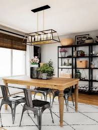 Industrial Farmhouse Dining Room The Home Depot