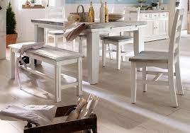 2 x stuhl opus in kiefer weiß und sand massivholz recycelt landhaus 4 fuß esszimmerstuhl used wood 2er set