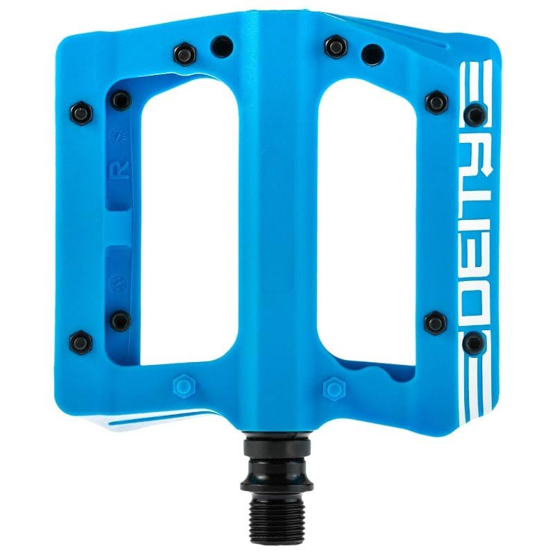 Deity Mountain Bike Pedals - Blue