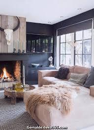 komfortable moderne bauernhaus wohnzimmer deko ideen bilder