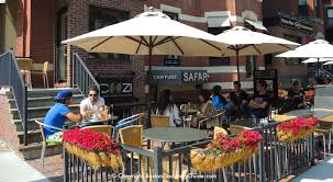 Scoozi Outdoor Dining Area