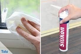 silikonfugen am fenster dusche reinigen tipps und