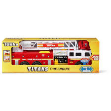 Tonka Titans Fire Engine | BIG W Squirter Bath Toy Fire Truck Mini Vehicles Bjigs Toys Small Tonka Toys Fire Engine With Lights And Sounds Youtube E3024 Hape Green Engine Character Other 9 Fantastic Trucks For Junior Firefighters Flaming Fun Lights Sound Ladder Hose Electric Brigade Toy Fire Truck Harlemtoys Ikonic Wooden Plastic With Stock Photo Image Of Cars Tidlo Set Scania Water Pump Light 03590
