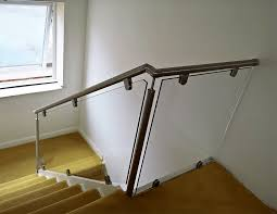 Glass Banister - Sheerwater Glass Glass Stair Rail With Mount Railing Hdware Ot And In Edmton Alberta Railingbalustrade Updating Stairs Railings A Split Level Home Best 25 Stair Railing Ideas On Pinterest Stairs Hand Guard Rails Sf Peninsula The Worlds Catalog Of Ideas Staircase Photo Cavitetrail Philippines Accsories Top Notch Picture Interior Decoration Design Ideal Ltd Awnings Wilson Modern Staircase Decorating Contemporary Dark