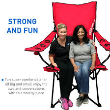 Details About Giant Oversized Big Portable Folding Chair - Red Top 5 Best Moon Chairs To Buy In 20 Primates2016 The Camping For 2019 Digital Trends Mac At Home Rmolmf102 Oversized Folding Chair Portable Oversize Big Chairtable With Carry Bag Blue Padded Club Kingcamp Camp Quad Outdoors 10 Of To Fit Your Louing Style Aw2k Amazoncom Mutang Outdoor Heavy 7 Of Ozark Trail 500 Lb Xxl Comfort Mesh Ptradestorecom Fundango Arm Lumbar Back Support Steel Frame Duty 350lbs Cup Holder And Beach Black New