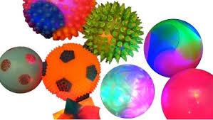 Light Up Balls Sensory Kit