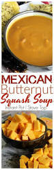 Spicy Pumpkin Butternut Squash Soup by Mexican Butternut Squash Soup With New Mexico Or Ancho Chiles