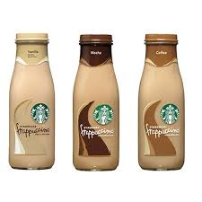 Starbucks Frappuccino 95 Oz Glass Bottles