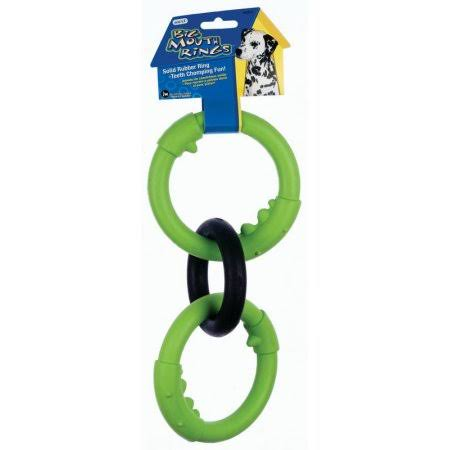 JW Pet Company Big Mouth Rings LT Dog Toy