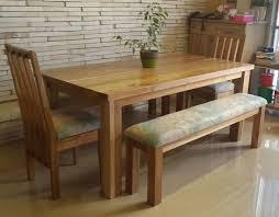 Wooden Blackwood Dining Room Set