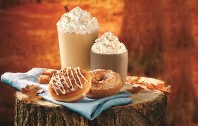 Pumpkin Spice Mms Canada by Fall In Love With Seasonal Flavors At Krispy Kreme Doughnuts