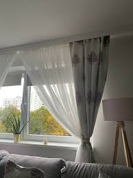 gardinen gardinenschals wohnzimmer