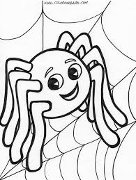 Halloween Cute Coloring Sheet