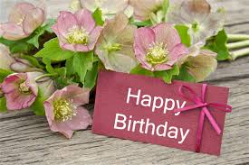 Thank you for all those amazing flowers which you have sent to me on my birthday I was really very surprised that you have remembered my birthday even on