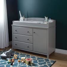 Graco Rory Espresso Dresser by South Shore Cotton Candy Changing Table With Removable Changing