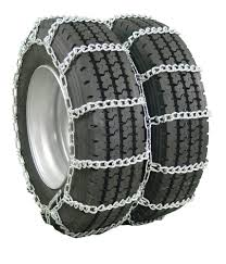 Glacier Mud Service Snow Tire Chain For Dual-Wheeled Trucks - 1 Axle ...