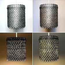 Beautiful Mesh Lamp Shade And Metal Floor Lamp With Wire Mesh