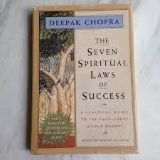 The Seven Spiritual Laws Of Success By Deepak Chopra Hardcover Book