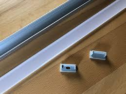 ausprobiert aluminium profil als halterung für philips hue