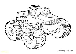 24 How To Draw A Monster Truck Cheerful Truck Drawing For Kids At ...
