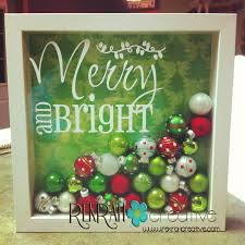 Donner And Blitzen Christmas Tree Ornaments by Shadow Box Tutorial Only 4 Steps Super And Classy Christmas