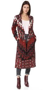 mara hoffman bolnisi rug sweater coat shopbop save up to 25 use