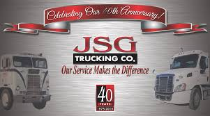 JSG Trucking | Our Service Makes The Difference Uber Buys Trucking Brokerage Firm Fortune Permit Loads Trucking Services Company California Ssi Express Inc Truck Driving Jobs In Cdl Careers Indian River Transport Merit Co Rolys Company Freight Mexicali Bc Baja Ltl Carrier To New England Frontier Transportation Osterkamp Group Designed And Preparing Print Shirts For Fonseca Pomona Bowerman Services Seaside