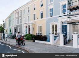 100 Notting Hill Houses Victorian Houses In In London Stock Editorial Photo