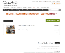 Sur La Table Free Shipping Coupon Code / Printable Coupons ... Best Online Deals And Sales Every Retailer Running A Sale Wning Picks20 Off Customer Favorites Sur La Table La Table Stores Brand Deals Sur Babies R Us Ami Need Help Using Your Coupon Ask Our Chefs 15 November 2019 Bakingshopcom How To Find Uniqlo Promo Code When Google Comes Up Short Sur_la_table Twitter Apply Promo Code Or Coupon In Uber Eats Iphone Ios App