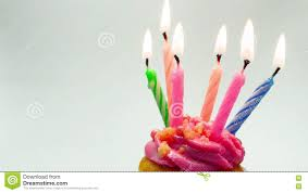 Pink Birthday Cupcake With Candle Stock Footage Video of candle baked