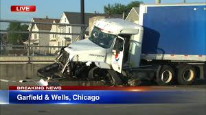 100 Truck Accident Chicago Semi Crash Abc7chicagocom Abc7chicagocom