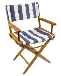 Kylee Folding Director Chair With Cushion