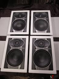 Sonance In Ceiling Speakers by Set Of 4 Sonance Symphony S622t In Wall Or Ceiling Speakers Photo