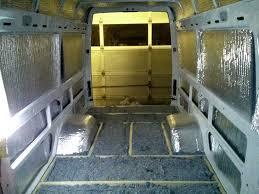 Insulating A Sprinter Van